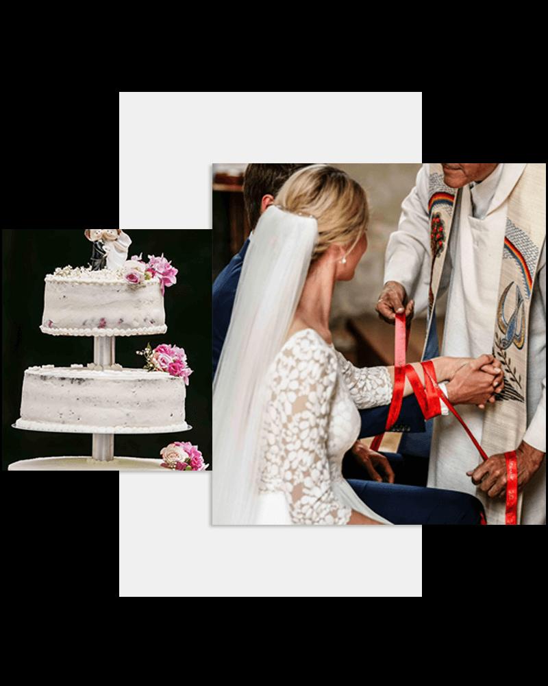Hochzeitstorte / Hochzeit